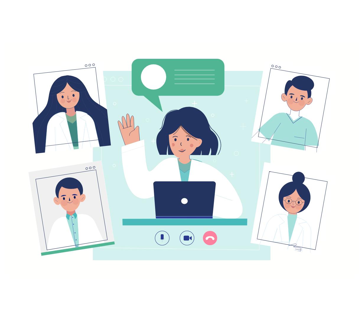 Consultas presenciales y online